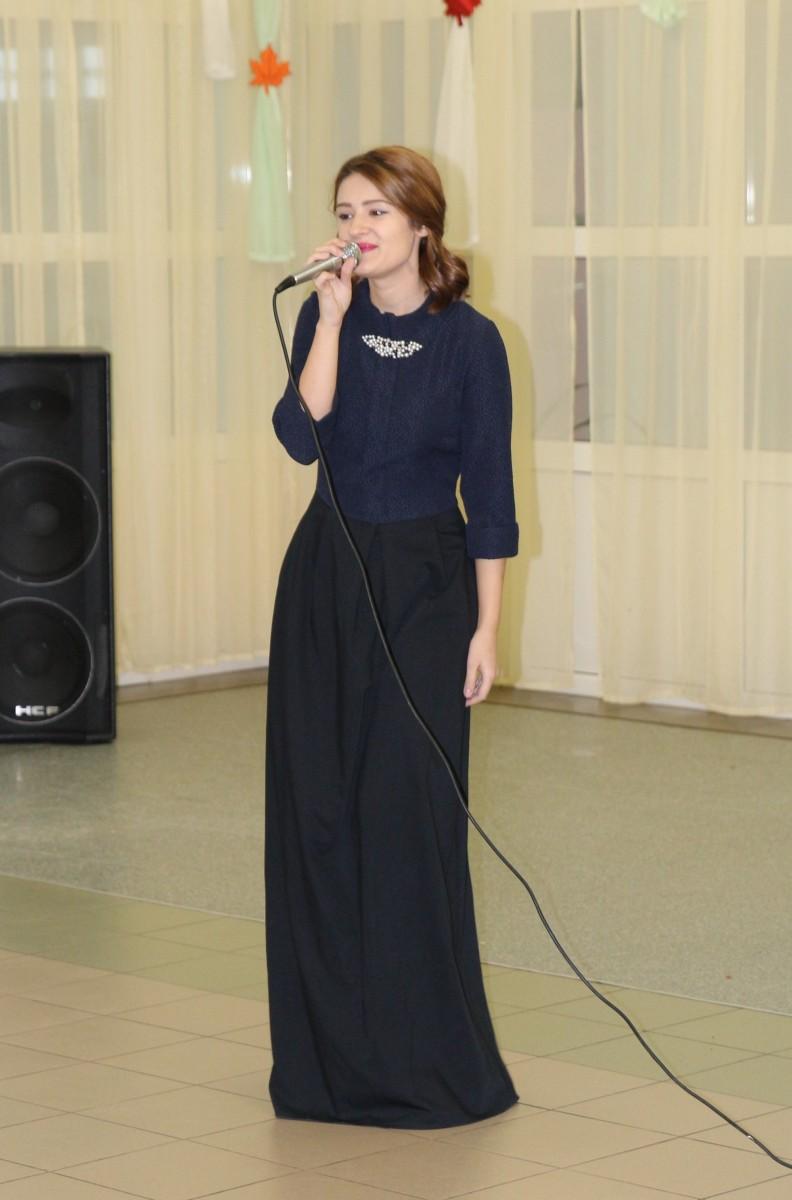 Выступление учащейся Сургутского музыкального колледжа