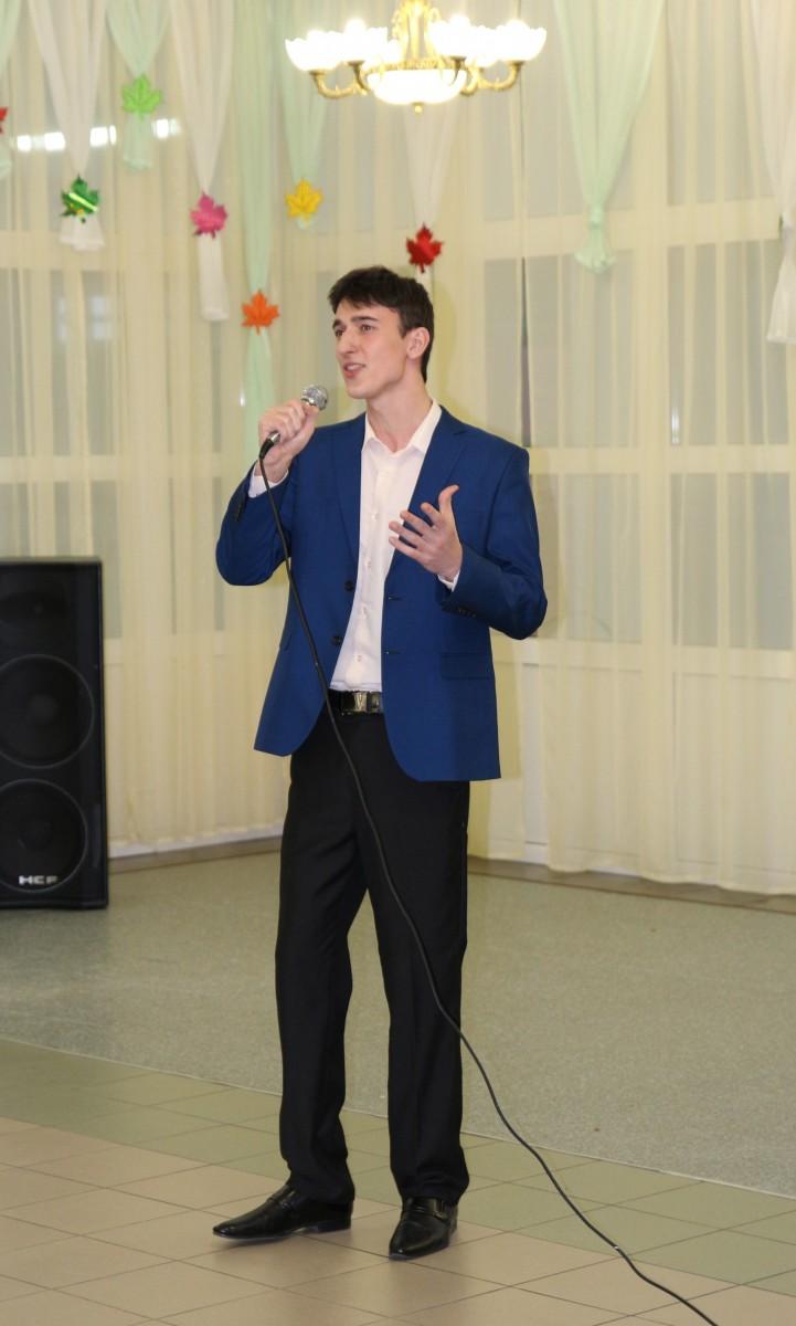 Выступление учащегося Сургутского музыкального колледжа