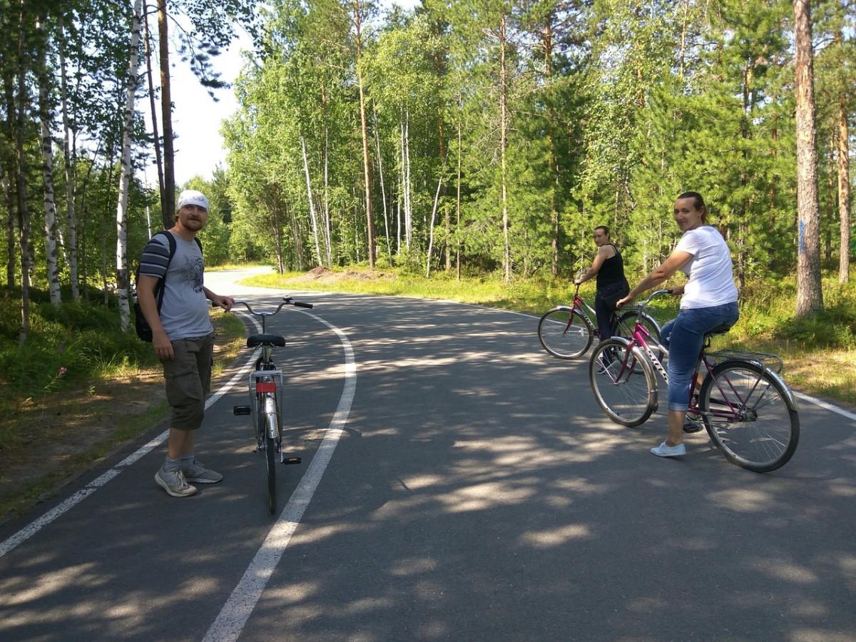 Участники велозаезда