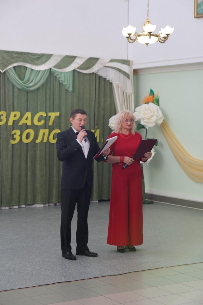 Поздравление получателей социальных услуг с Международным днем пожилого человека