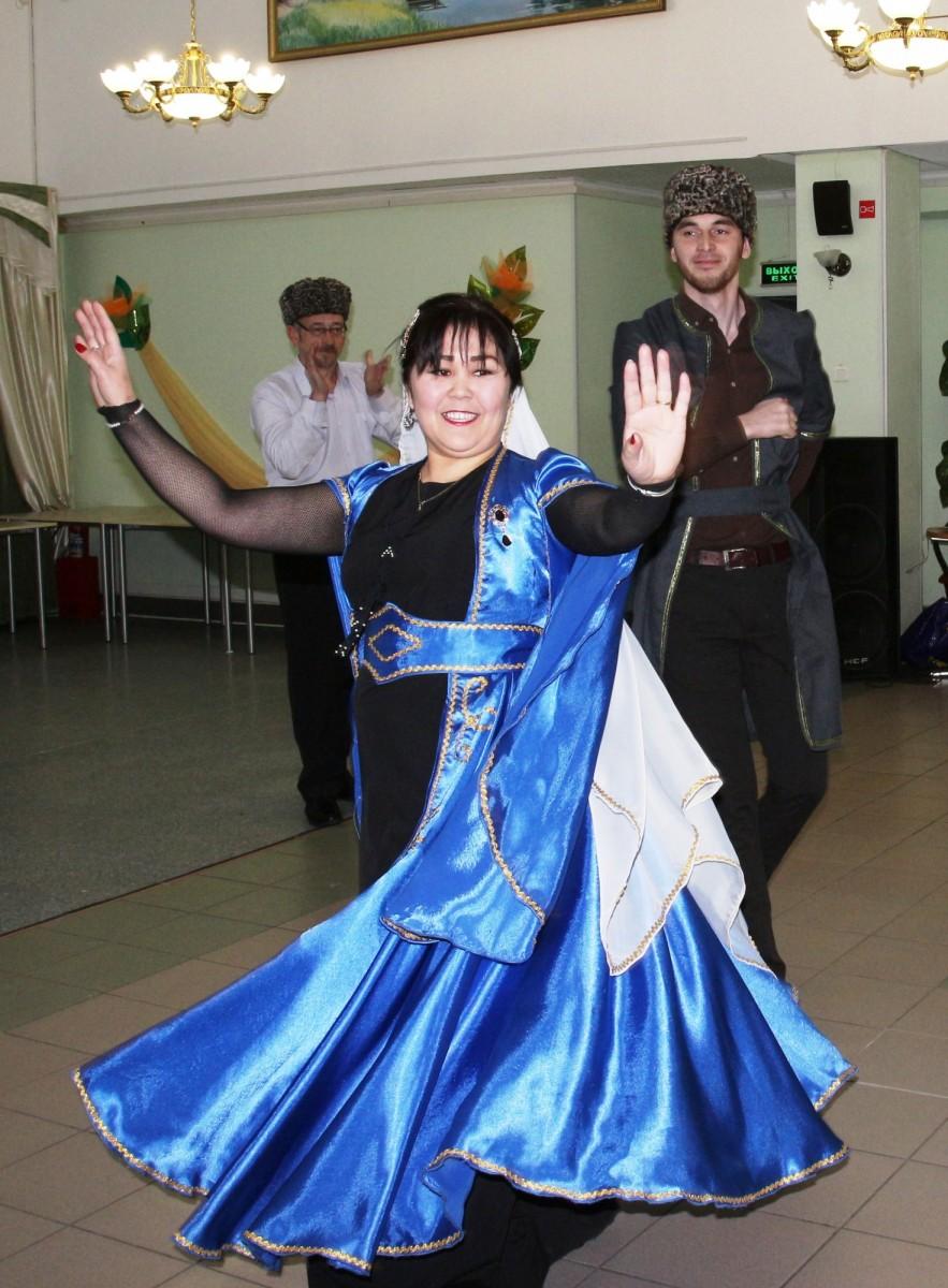Участники танцевального коллектива